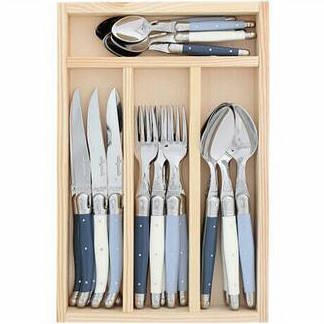 Cutlery Drawer 24 Pieces Atelier Dusty Blue Mix 1'2 MM