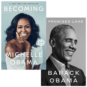 A Promised Land & Becoming by Barack Obama & Michelle Obama (Hardcover) - LV'S Global Media