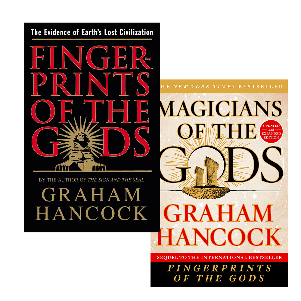Fingerprints of the Gods & Magicians of the Gods by Graham Hancock (Paperback)