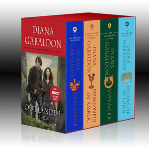 Outlander Boxed Set : Books 1-4 by Diana Gabaldon - Outlander Series Mass Market - LV'S Global Media