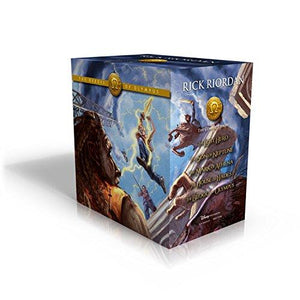 The Heroes of Olympus Hardcover Boxed Set by Rick Riordan - LV'S Global Media