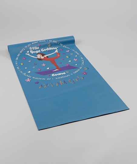 Girls Yoga Mat - Little Yoga Goddess