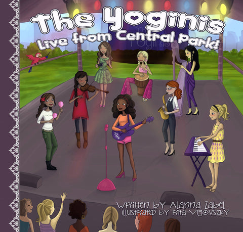 The Yogini's: Live from Central Park!