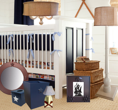 Coastal Cottage Nursery theme
