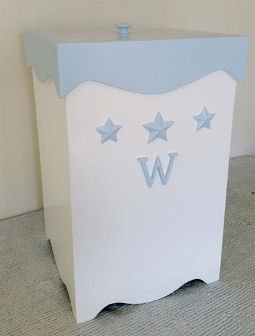 Bella Starry Custom Nursery Clothes Hamper