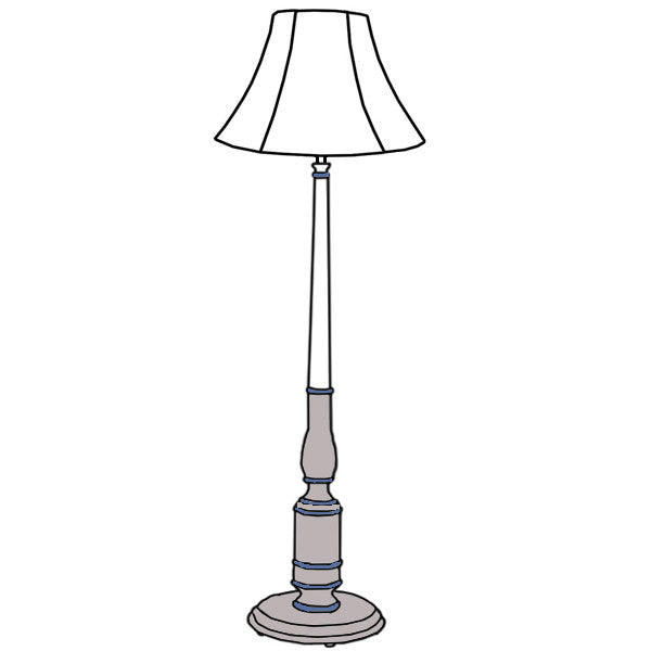 Custom Baldwin Floor Lamp Diagram