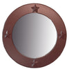 Bella Star Brown Mirror