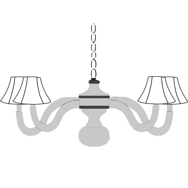 Custom spindle chandelier design your own chandelier aloadofball Image collections