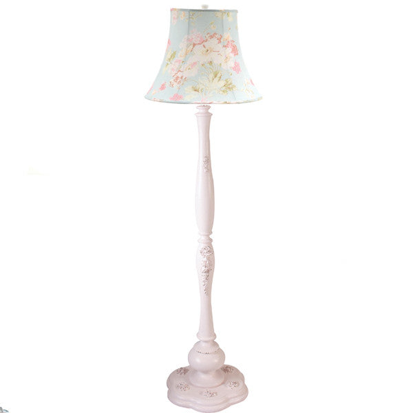 Custom medium urn lamp design your own lamp cottage for Decorate your own lampshade