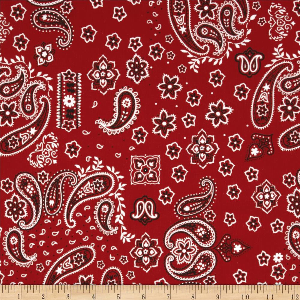 Bunkhouse bandanna fabric