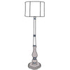 Marpessa floor lamp with drum shade
