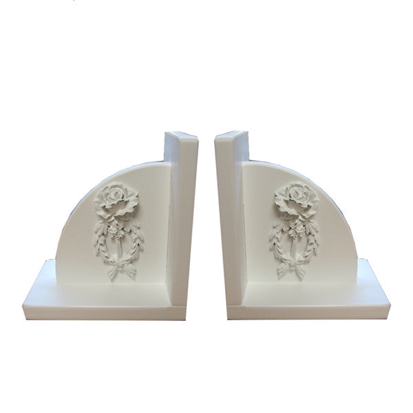 Bella half moon bookends