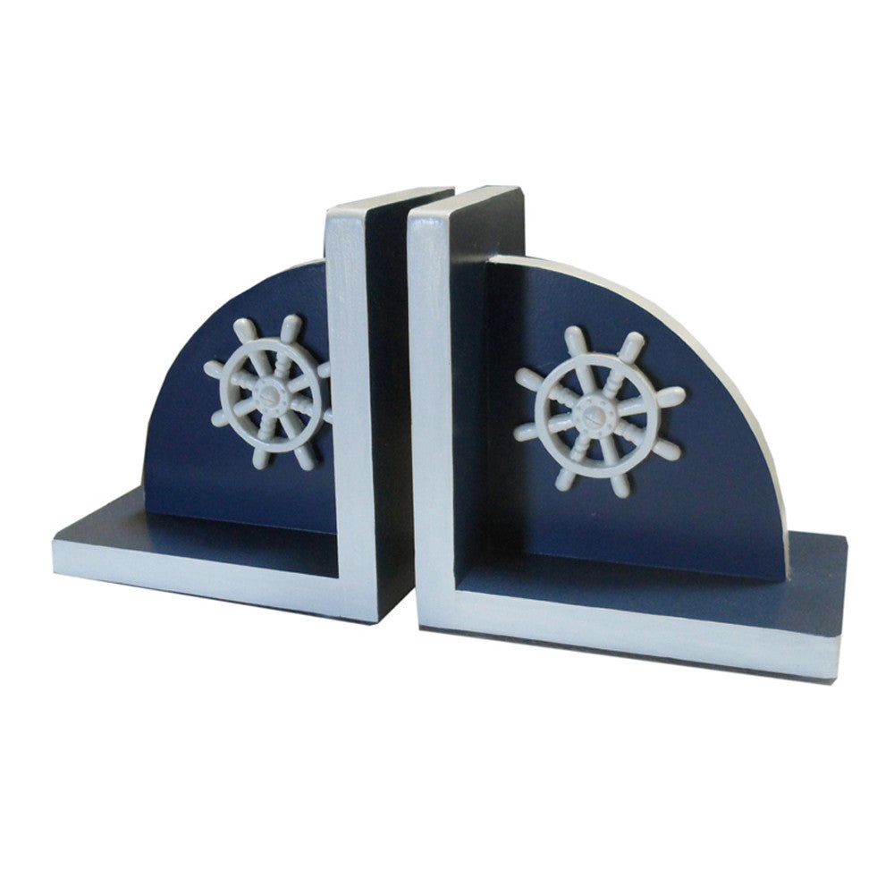 Bella ships wheel bookends