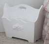 Bella magazine rack white