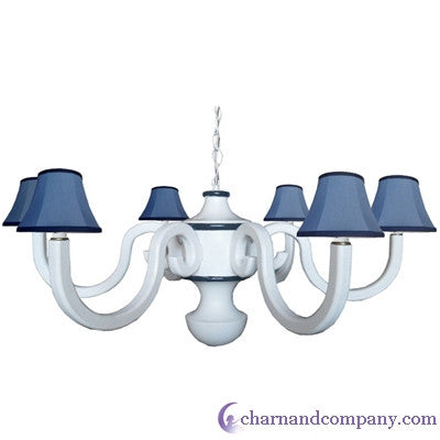 Davenport large scroll chandelier