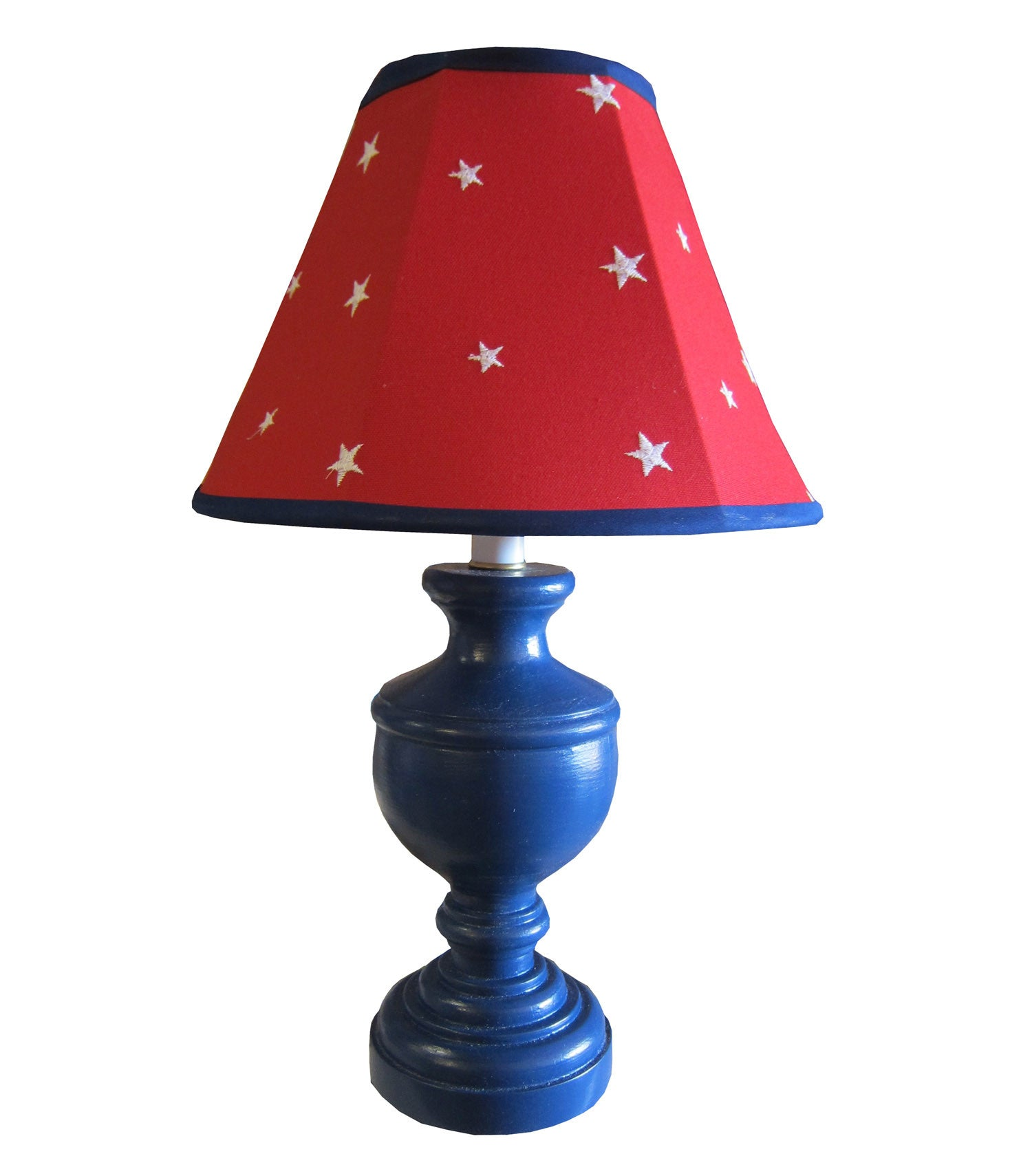 Boys red star lamp  Daydream urn