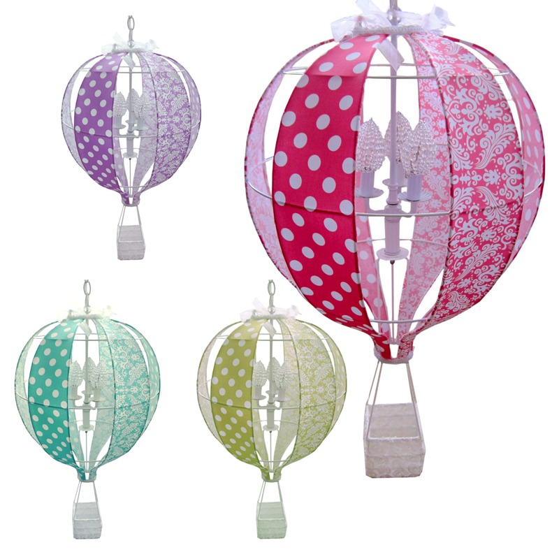 Arisa chandelier hot air balloon lighting nursery lighting choose your favorite hot air balloon chandelier mozeypictures Images