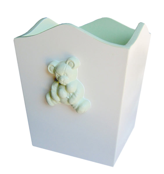 Teddy Bear Wastebasket