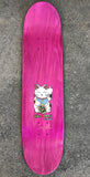 unlucky cat PEARL LIGHT BLUE 8.0 X 31.75 SIGNED