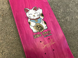 unlucky cat MATTE BLACK 8.0 X 31.75 SIGNED