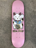 unlucky cat PEARL PINK 8.0 X 31.75 SIGNED