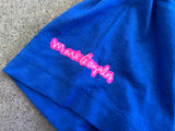 mark gonzales dream girl t-shirt - ROYAL BLUE