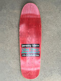 dream girl board PURPLE original size 9.5 X 31.75 wheelbase 14.25