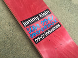 jeremy klein hand screened dream girl board PINK size 8.5 X 32