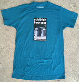 rubbish heap t-shirt TEAL