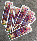 10 pack of jk knight sabers screened stickers 5.5 X 1.75