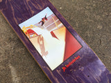 "tony hawk HAND SCREENED matador ""the end"" skateboard 8.25 X 31.75"