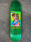 gonz dream girl GREEN STAIN 8.55 X 32.5