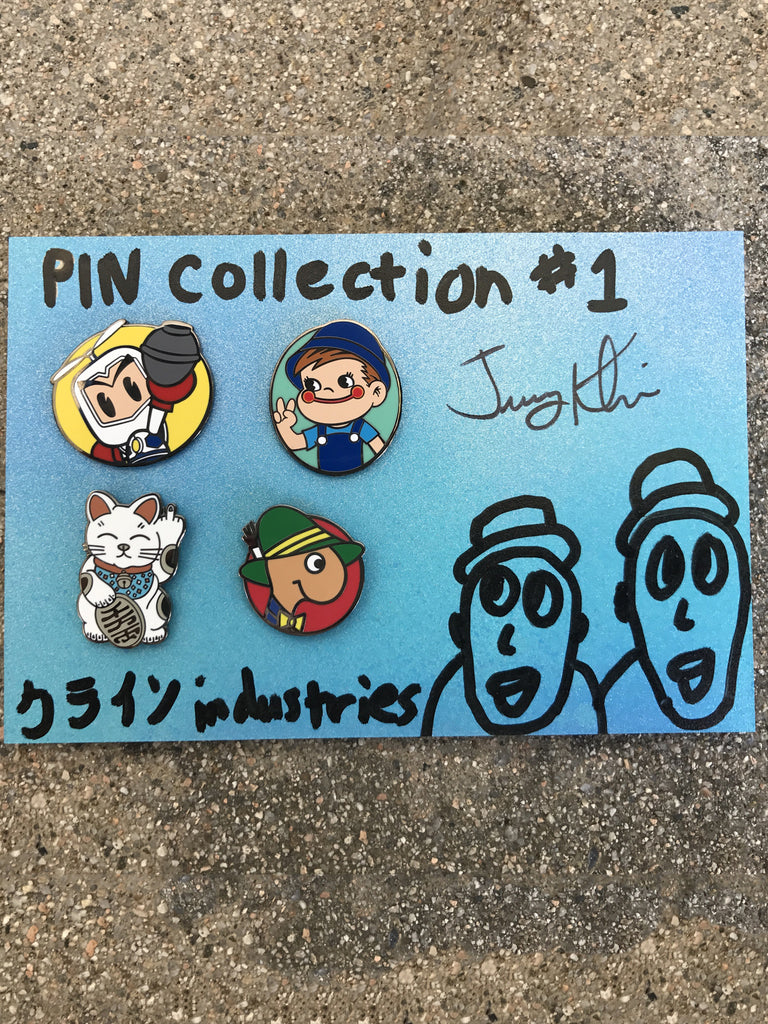 jk industries enamel pin set 1