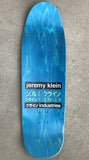 dream girl board BRILLIANT BLUE original size 9.5 X 31.75 wheelbase 14.25