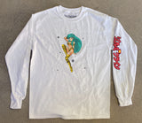 lum chan 2 LONG SLEEVE t-shirt WHITE