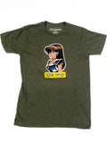 dream girl t-shirt ARMY GREEN HEATHER