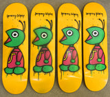 HAND PAINTED bug 8.0 limited edition board with spray can