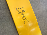 HAND PAINTED bug 8.25 limited edition board with spray can