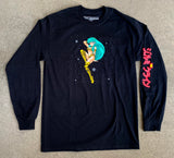 lum chan 2 LONG SLEEVE t-shirt BLACK