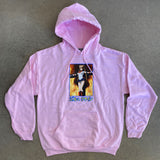 eternal moon hooded sweatshirt - LIGHT PINK