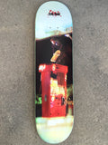 "jeremy klein HAND SCREENED fastplant ""the end"" skateboard"