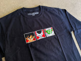 dbz LONG SLEEVE t-shirt BLACK