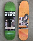 SIGNED rubbish heap limited edition board ASSORTED COLORS 8.5 X 32.5