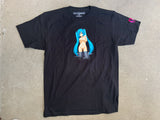hatsune t-shirt BLACK