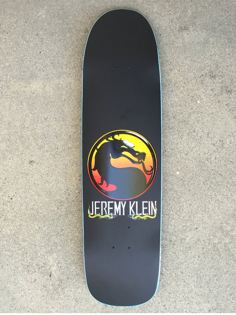 jeremy klein silk screened dragon board original shape 8.55 X 32.25