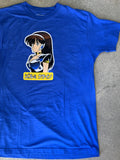 dream girl t-shirt ROYAL BLUE