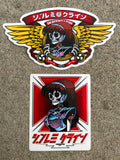dream hawk and wings sticker set