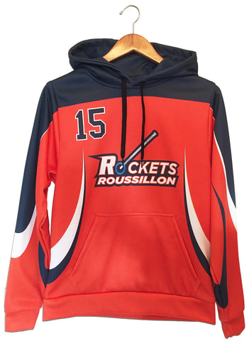 Roussillon Sublimated Hooded Sweatshirt