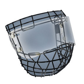 Powertek Ringette cage/shield combo