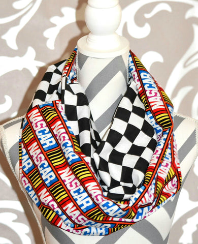 Nascar Scarf - Peachy Keen Boutique